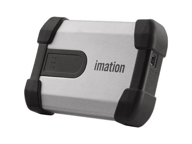 Imation 320GB Defender H100 External Hard Drive USB 2.0 Model 27839 Silver