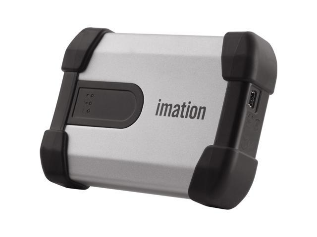 Imation 500GB USB 2.0 Silver Defender H100 External Hard Drive 27840