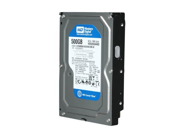 Western Digital Blue WD5000AAKS 500GB 7200 RPM 16MB Cache SATA 3.0Gb/s 3.5