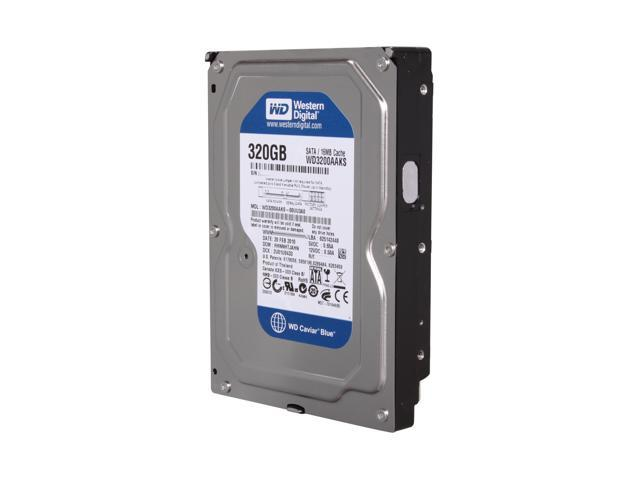 Western Digital Blue WD3200AAKS 320GB 7200 RPM 16MB Cache SATA 3.0Gb/s 3.5