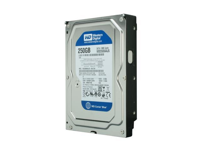 Western Digital Blue WD2500AAJS 250GB 7200 RPM 8MB Cache SATA 3.0Gb/s 3.5