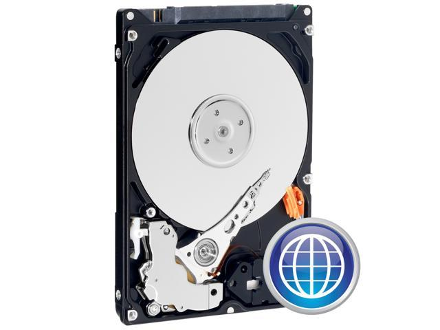 "Western Digital Scorpio Blue WD1600BEVE 160GB 5400 RPM 8MB Cache PATA 2.5"" Internal Notebook Hard Drive Bare Drive"