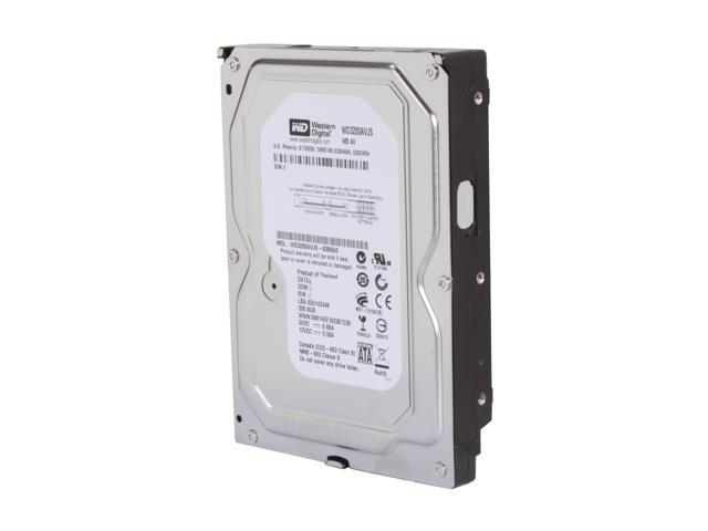 "Western Digital AV WD3200AVJS 320GB 7200 RPM 8MB Cache SATA 3.0Gb/s 3.5"" Internal AV Hard Drive Bare Drive"