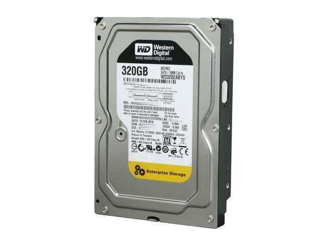 Western Digital RE3 WD3202ABYS 320GB 7200 RPM 16MB Cache SATA 3.0Gb/s 3.5