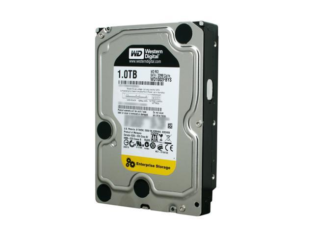"Western Digital RE3 WD1002FBYS 1TB 7200 RPM 32MB Cache SATA 3.0Gb/s 3.5"" Internal Hard Drive Bare Drive"