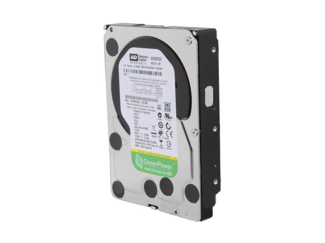 "Western Digital AV-GP WD20EVDS 2TB 32MB Cache SATA 3.0Gb/s 3.5"" Internal AV Hard Drive Bare Drive"