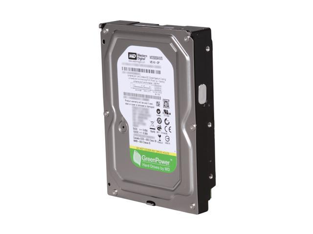 Western Digital AV-GP WD5000AVVS 500GB 8MB Cache SATA 3.0Gb/s 3.5