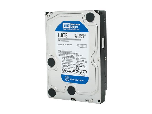 Western Digital Blue WD10EALS 1TB 7200 RPM 32MB Cache SATA 3.0Gb/s 3.5