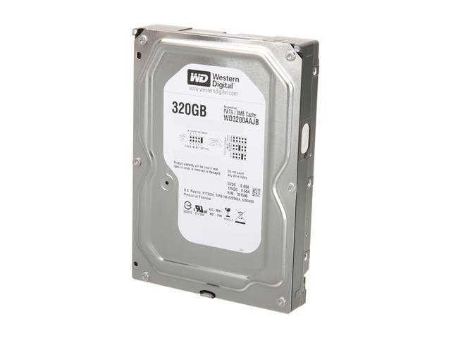 Western Digital Blue WD3200AAJB 320GB 7200 RPM 8MB Cache IDE Ultra ATA100 / ATA-6 3.5
