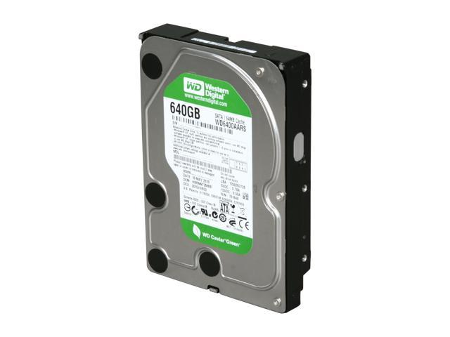 Western Digital WD Green WD6400AARS 640GB 64MB Cache SATA 3.0Gb/s 3.5