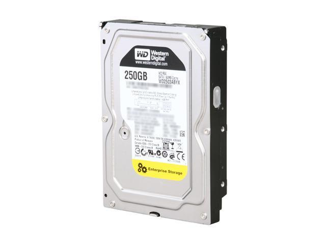 Western Digital WD RE4 WD2503ABYX 250GB 7200 RPM 64MB Cache SATA 3.0Gb/s 3.5