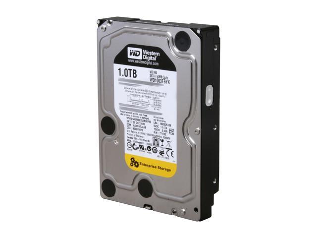 Western Digital WD RE4 WD1003FBYX 1TB 7200 RPM 64MB Cache SATA 3.0Gb/s 3.5