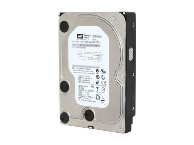 Western Digital AV RFHWD3200AVJS 320GB 7200 RPM 8MB Cache SATA 3.0Gb/s 3.5