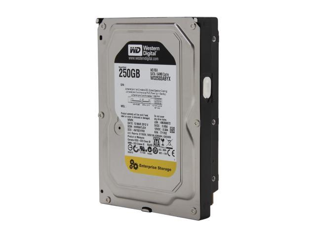 "WD WD RE4 WD2503ABYX-FR 250GB 7200 RPM 64MB Cache SATA 3.0Gb/s 3.5"" Internal Hard Drive"