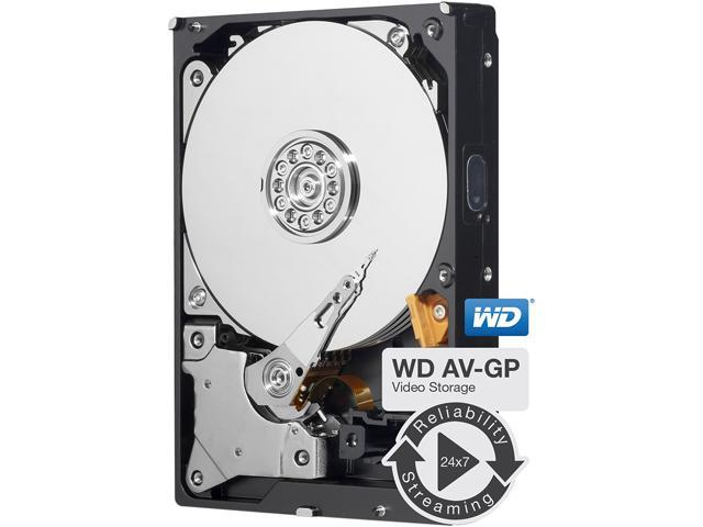 "Western Digital AV-GP WD25EURS 2.5TB IntelliPower 64MB Cache SATA 3.0Gb/s 3.5"" Internal Hard Drive Bare Drive"
