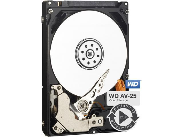 "Western Digital WD AV-25 WD1600BUCT 160GB 5400 RPM 16MB Cache SATA 3.0Gb/s 2.5"" Internal Hard Drive Bare Drive"