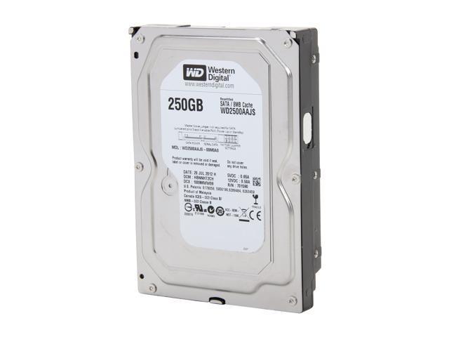 WD WD2500AAJS 250GB 7200 RPM 8MB Cache SATA 3.0Gb/s 3.5