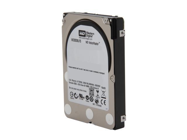 "Western Digital WD VelociRaptor WD3000BLFS 10000 RPM 16MB Cache SATA 3.0Gb/s 2.5"" Internal Enterprise Hard Drive"