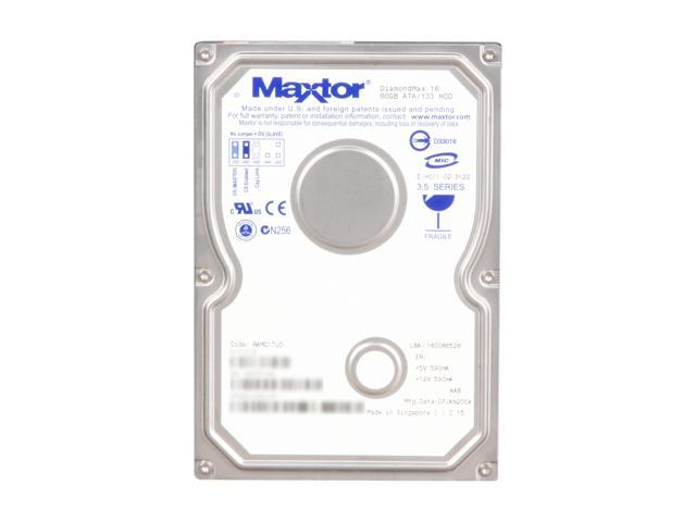 "Maxtor 4R080L0 80GB IDE Ultra ATA133 / ATA-7 3.5"" Internal Hard Drive Bare Drive"