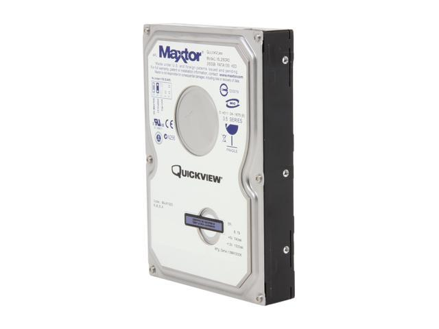 Maxtor QuickView 6L250R0 250GB 7200 RPM 16MB Cache IDE Ultra ATA133 / ATA-7 3.5