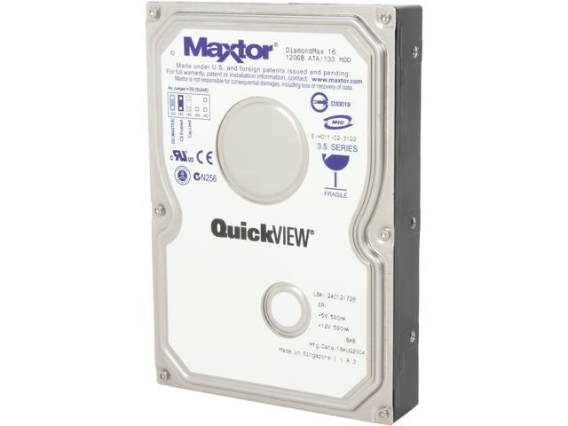 Maxtor 4R120L01320P1 120GB Internal Hard Drive Bare Drive