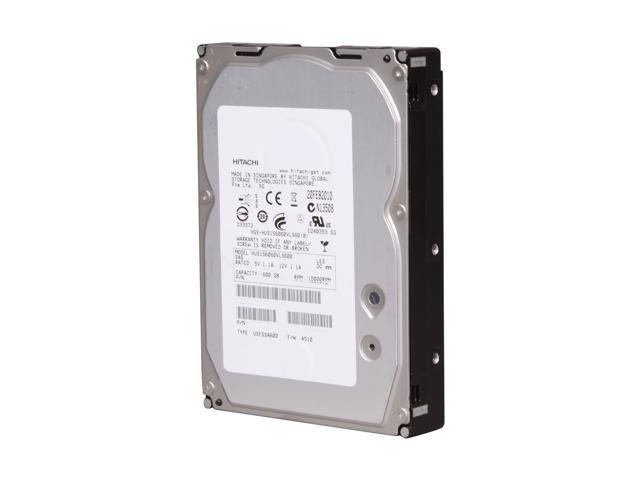 "HGST Ultrastar 15K600 HUS156060VLS600 (0B23663) 600GB 15000 RPM 64MB Cache SAS 6Gb/s 3.5"" Enterprise Hard Drive Bare Drive"