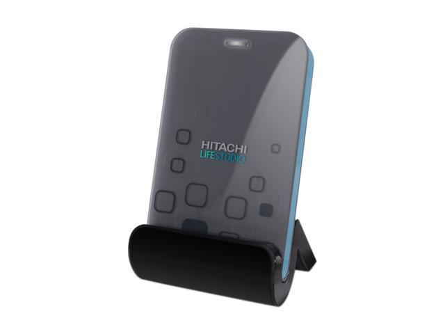 "Hitachi GST LifeStudio 320GB USB 2.0 2.5"" Portable External Hard Drive Graphite"