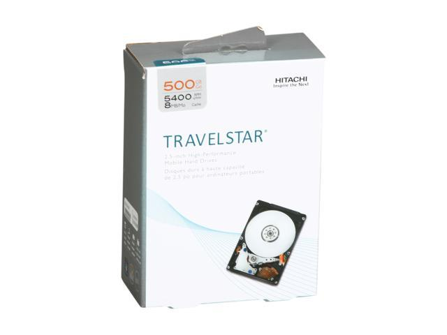 Hitachi GST Travelstar H2IK500854SP (0S02857) 500GB 5400 RPM SATA 3.0Gb/s 2.5