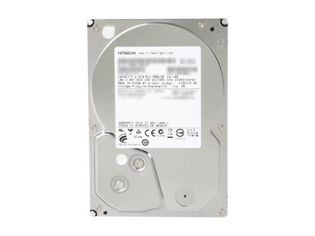 "Hitachi GST Deskstar 7K3000 HDS723020BLA642 (0f12115) 2TB 7200 RPM 64MB Cache SATA 6.0Gb/s 3.5"" Internal Hard Drive Bare Drive"