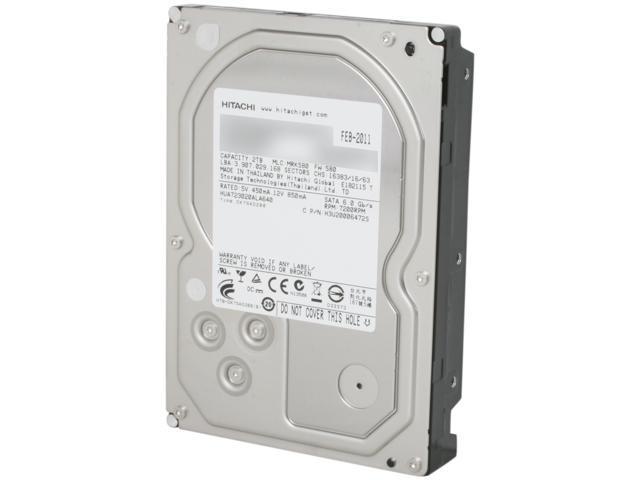 "HGST Ultrastar 7K3000 HUA723020ALA640 (0F12455) 2TB 7200 RPM 64MB Cache SATA 6.0Gb/s 3.5"" Enterprisel Hard Drive Bare Drive"