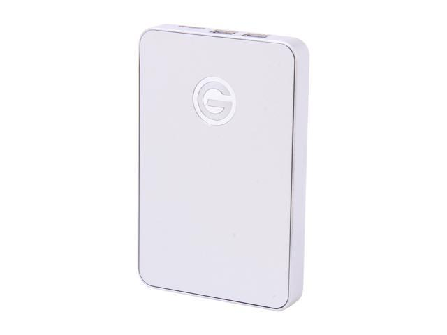 "G-Technology G-DRIVE 500GB 2.5"" USB 3.0 / 2 x Firewire800 Mobile Hard Drive Model 0G02383"