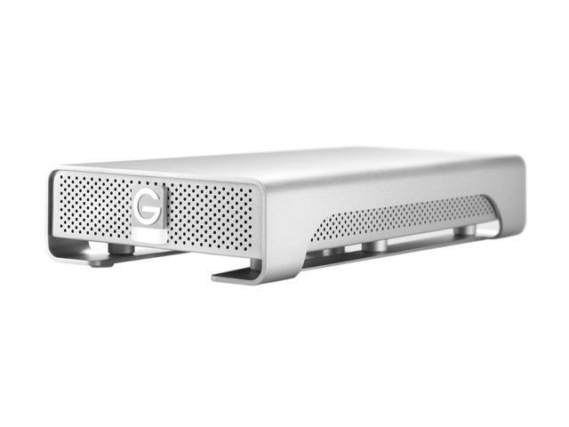 """Hitachi GST G-DRIVE 4TB USB 3.0 / 2 x Firewire800 3.5"""" External Hard Drive 0G02537 Silver"""