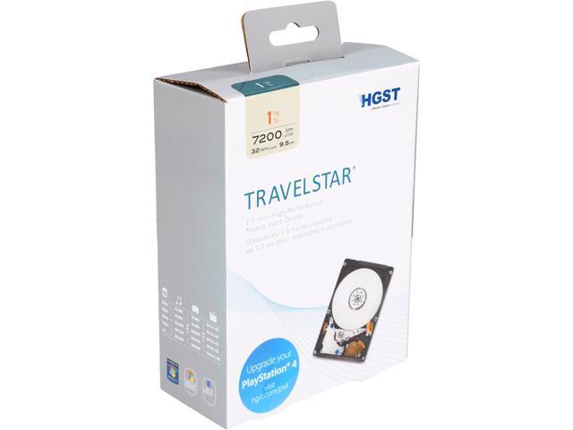 HGST Travelstar H2IK10003272SN (0S03563) 1TB 7200 RPM 32MB Cache SATA 6.0Gb/s 2.5