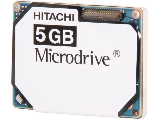 Hitachi GST Microdrive 3K8 HMS361006M5CE00-5 5GB 3600 RPM 128KB Cache IDE Ultra ATA33 / ATA-4 1