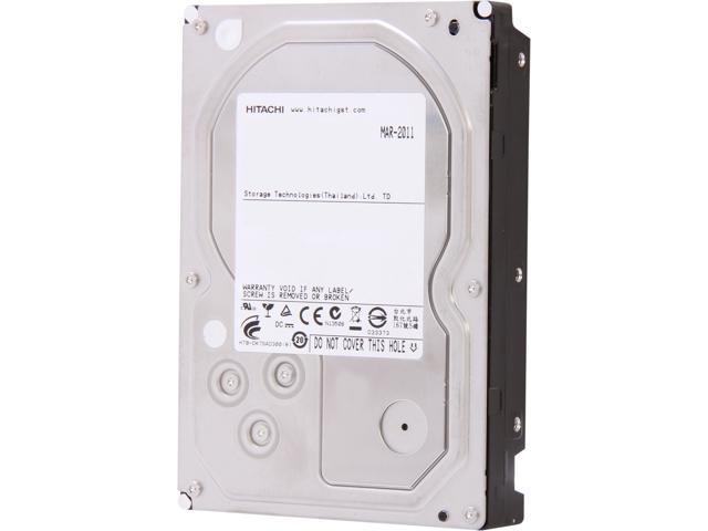 HGST Ultrastar 7K3000 HUA723030ALA640 (0F12456) 3TB 7200 RPM 64MB Cache SATA 6.0Gb/s 3.5