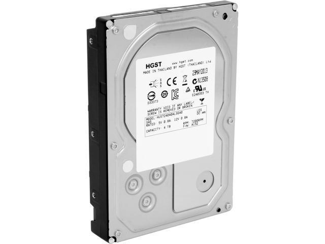 HGST Ultrastar 7K4000 HUS724040ALS640 (0B26885) 4TB 7200 RPM 64MB Cache SAS 6Gb/s 3.5