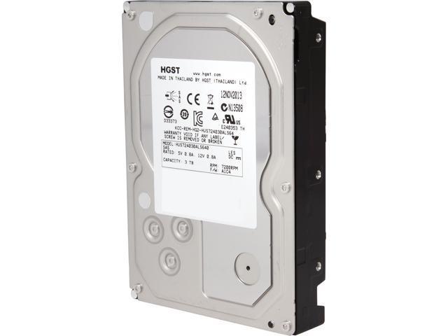 HGST Ultrastar 7K4000 HUS724030ALS640 (0B26886) 3TB 7200 RPM 64MB Cache SAS 6Gb/s 3.5