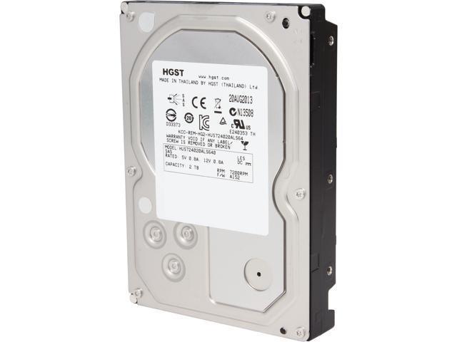 HGST Ultrastar 7K4000 HUS724020ALS640 (0B26887) 2TB 7200 RPM 64MB Cache SAS 6Gb/s 3.5