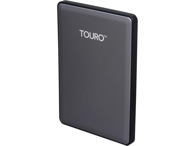 HGST 500GB TOURO S High-Performance Ultra-Portable Drive USB 3.0 Model 0S03698(HTOSPC5001BHB) Gray