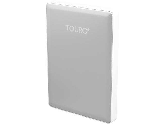 HGST 1TB TOURO S High-Performance Ultra-Portable Drive USB 3.0 Model 0S03729 (HTOSPA10001BDB) Silver