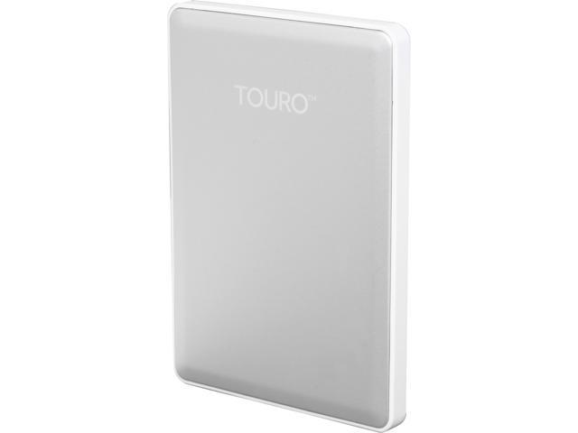 HGST 500GB TOURO S High-Performance Ultra-Portable Drive USB 3.0 Model 0S03733(HTOSPC5001BDB) Silver