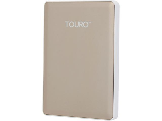 HGST 1TB TOURO S High-Performance Ultra-Portable Drive USB 3.0 Model 0S03753(HTOSPA10001BGB) Gold