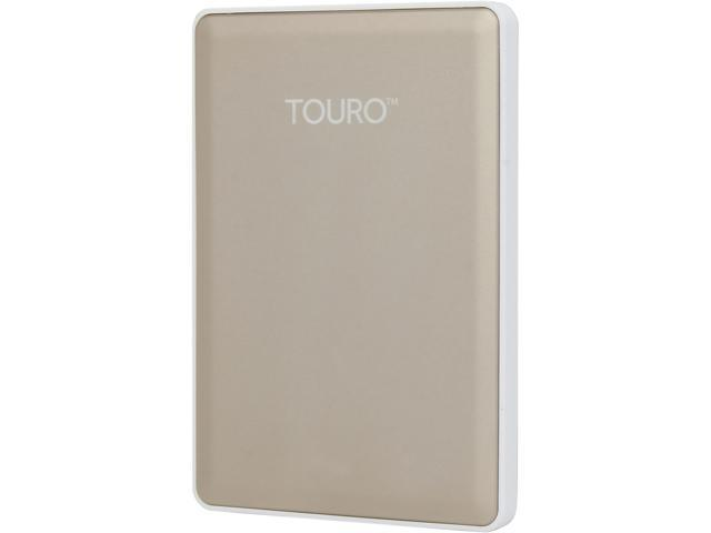 HGST 500GB TOURO S High-Performance Ultra-Portable Drive USB 3.0 Model 0S03757(HTOSPC5001BGB) Gold