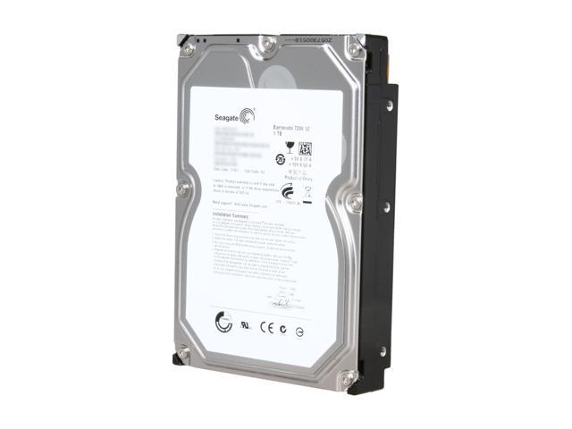 Seagate Barracuda 7200.12 ST31000528AS 1TB 7200 RPM 32MB Cache SATA 3.0Gb/s 3.5