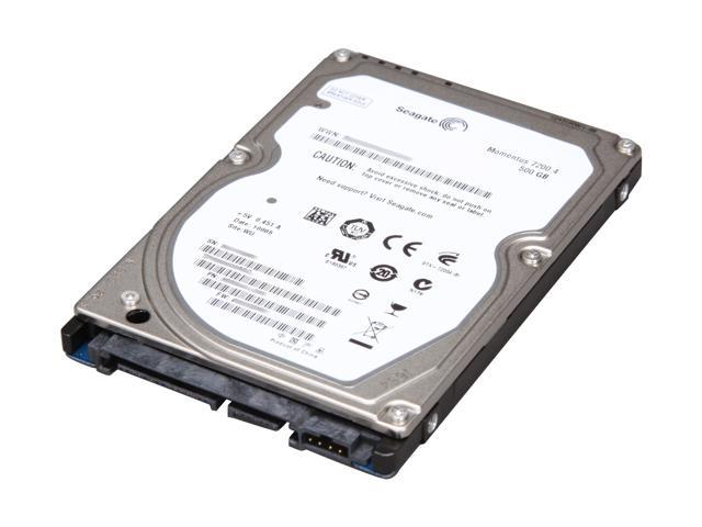 "Seagate Momentus 7200.4 ST9500420ASG 500GB 7200 RPM 16MB Cache SATA 3.0Gb/s 2.5"" Internal Notebook Hard Drive with G-Force ..."