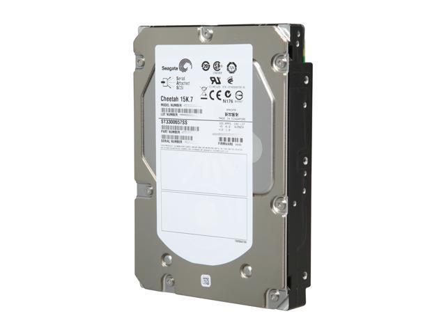 Seagate Cheetah 15K.7 ST3300657SS 300GB 15000 RPM 16MB Cache SAS 6Gb/s 3.5
