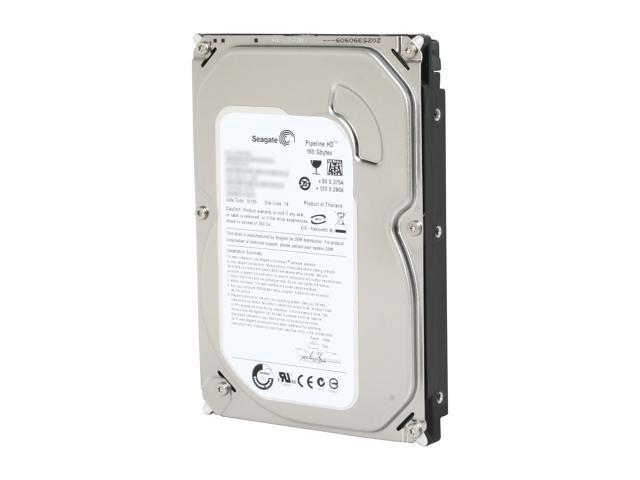 "Seagate Pipeline HD ST3160310CS 160GB 5900 RPM 8MB Cache SATA 3.0Gb/s 3.5"" Internal Hard Drive Bare Drive"