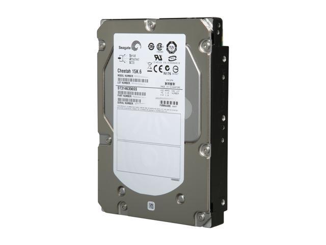 Seagate Cheetah 15K.6 ST3146356SS 146GB 15000 RPM 16MB Cache SAS 3Gb/s 3.5