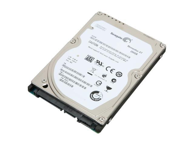Seagate Momentus XT ST92505610AS 250GB 7200 RPM 32MB Cache SATA 3.0Gb/s with NCQ 2.5