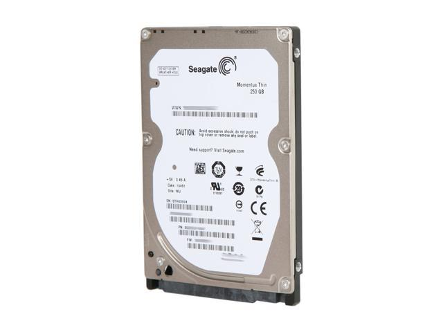 Seagate Momentus Thin ST92503010AS 250GB 5400 RPM 8MB Cache SATA 3.0Gb/s 2.5